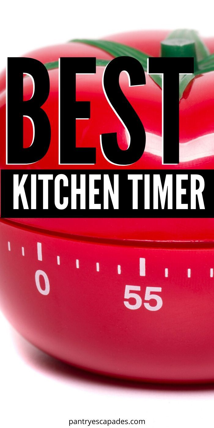 Find the best kitchen timer for your home!