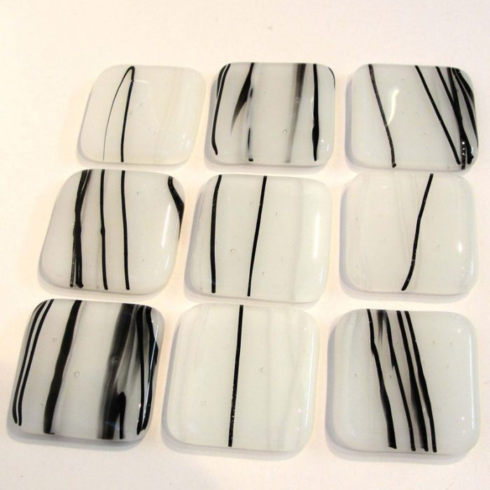 faux black and white marble style knobs for kitchen cabinets