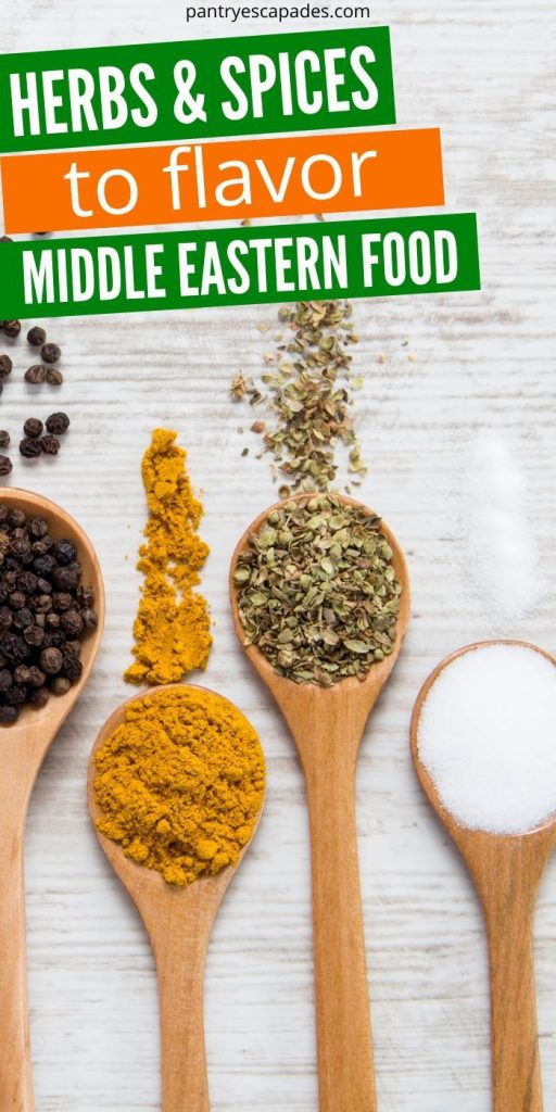 Herbs and Spices in Middle Eastern Foods
