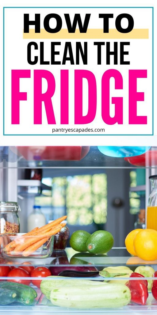 Here's How to Clean the Fridge Properly