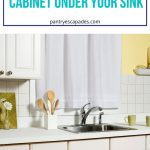 How to clean under the sink | How to Clean Out Around the Sink | Cleaning Under the Sink | How do you Clean Around the Sink | What do you Need to Clean Around the Sink? | What Should you Buy for Sink Organizing? | Under the Sink Organizers | Best Under the Kitchen Cabinet Organizers | #cleaning #cleaningdiy #kitchenhacks #organization