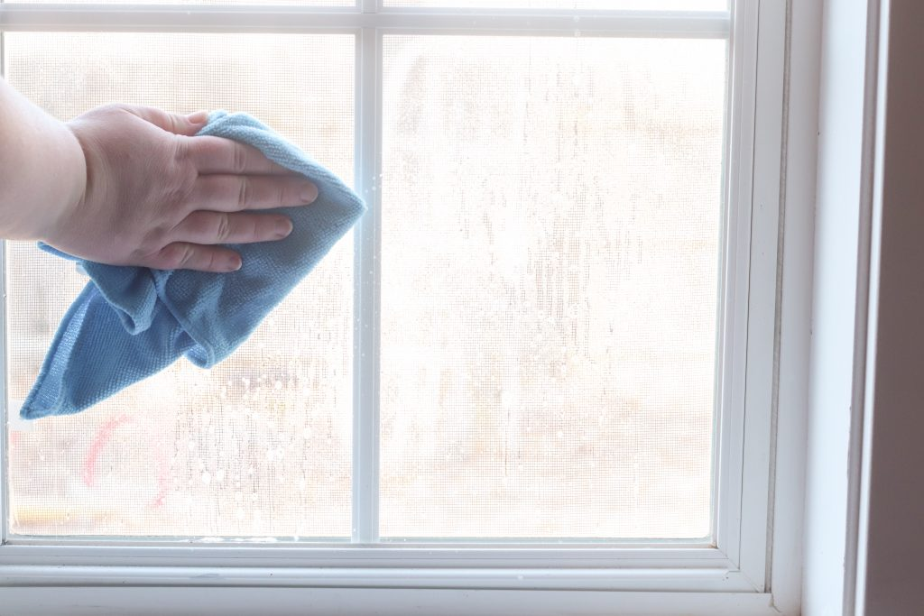 How to clean window pane