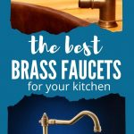Brass Kitchen Faucets for Your Kitchen | Brass Faucets | Brass Kitchen Aesthetic | Brass Kitchen Accessories | Brushed Brass Faucets | Dark Brass Faucets | #faucets #kitchen #accessory #brass #finishings