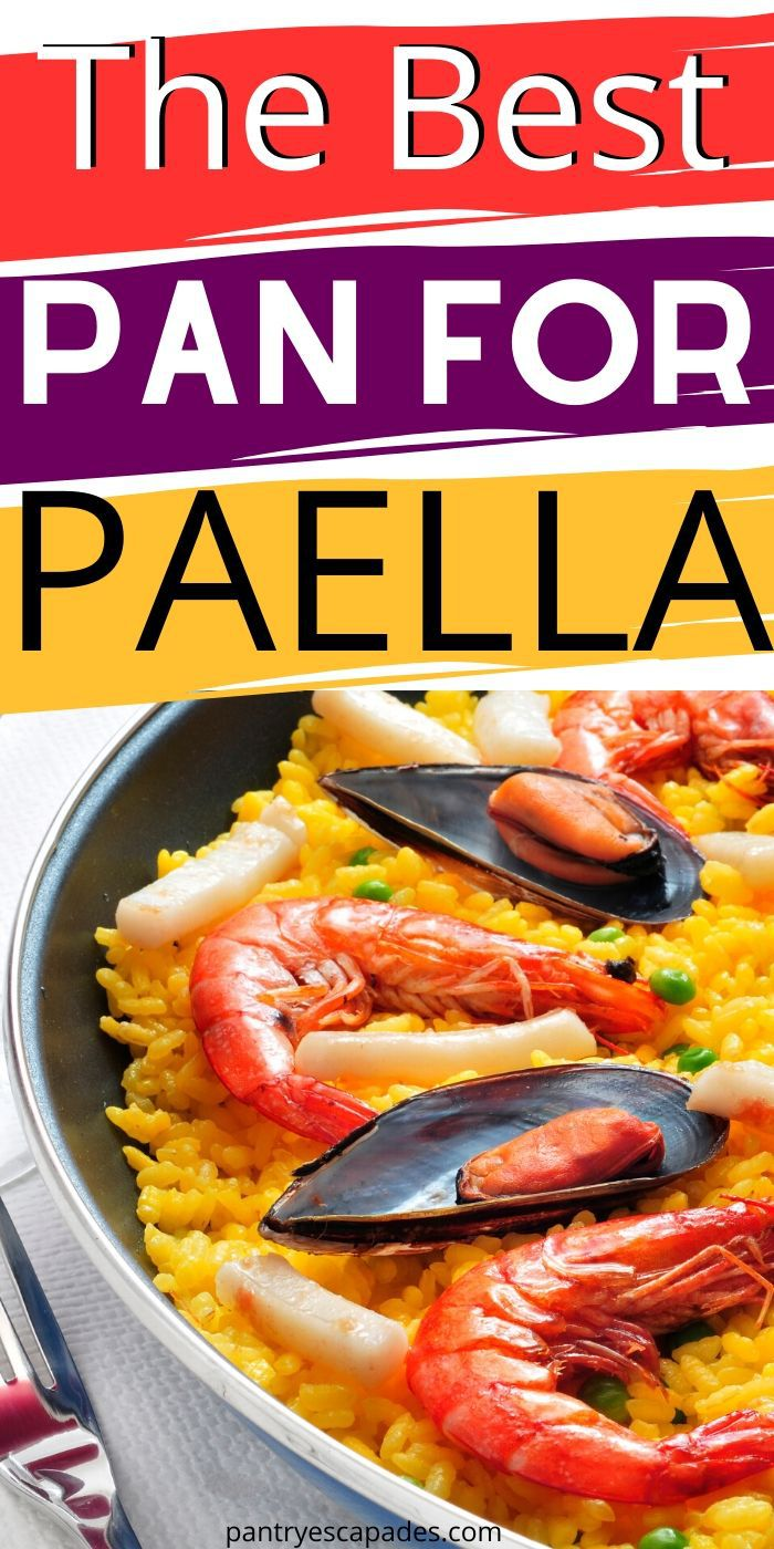 Find the best pan for cooking paella!