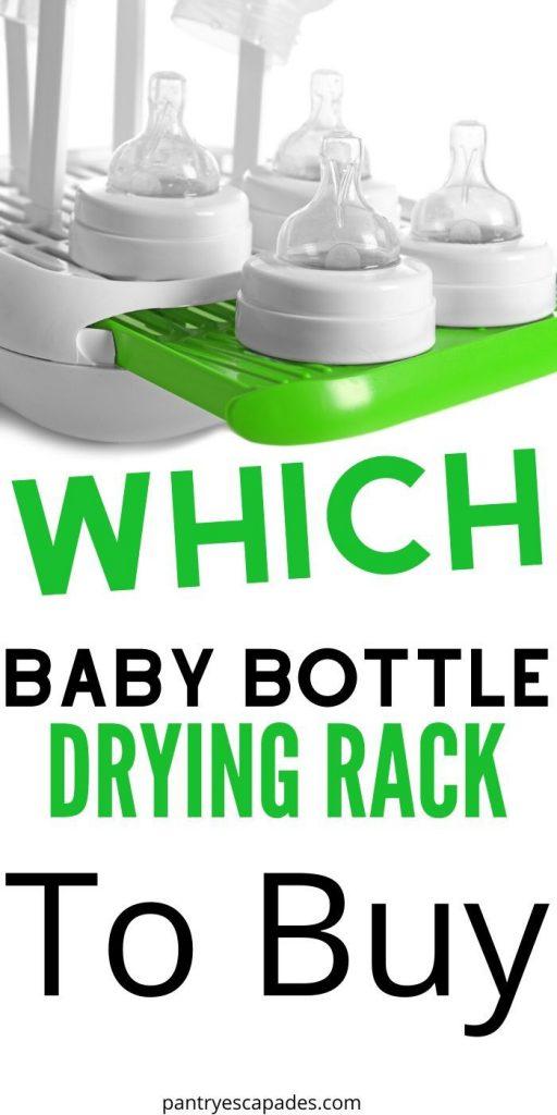 Best Bottle Drying Rack for Baby Bottles