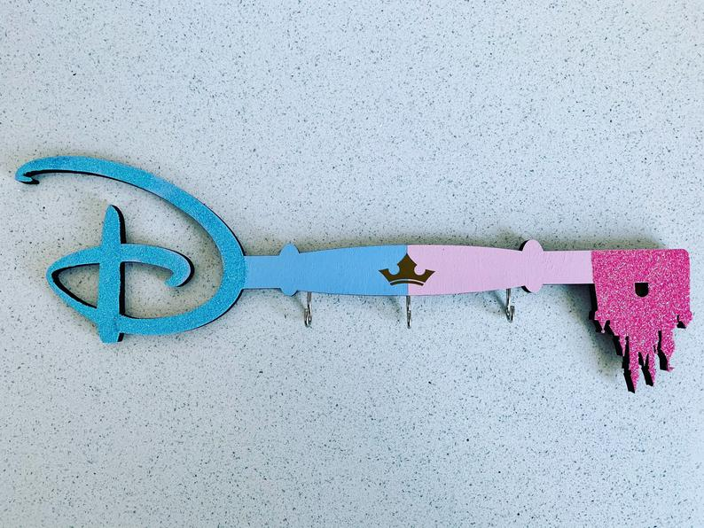 Disney key holder custom made